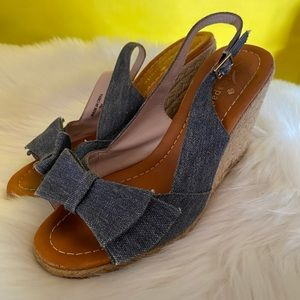 ✨Kate Spade Jean Bow Wedges